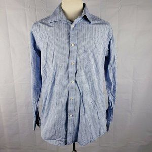 IKE Behar NY Plaid Button Up Long Sleeve Shirt